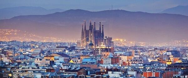 Vistas de la ciudad de Barcelona