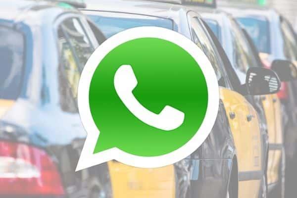 WhatsApp reservar Taxi BCN
