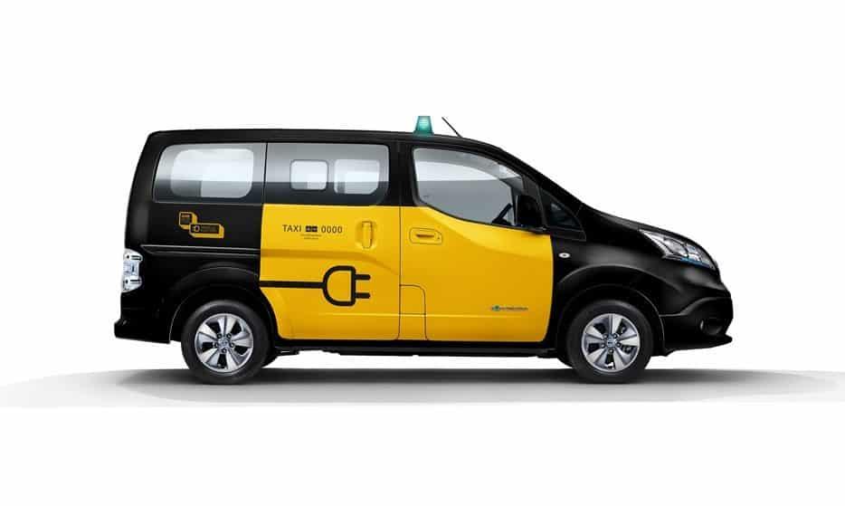 Taxi furgoneta de 7 plazas